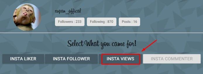 Membuat Auto View Video Instagram