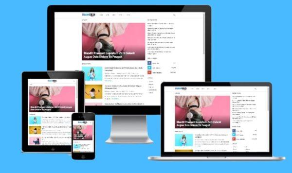 Template blogger 2019 yang memiliki loading cepat dan keren
