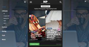 template blogger responsive versi mobile