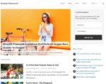 halaman depan template blogger simple dan minimalis