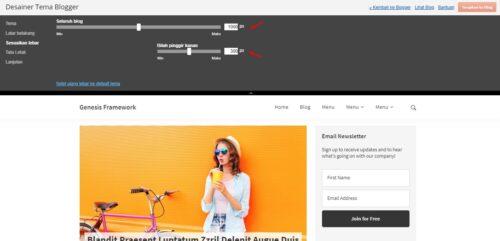 template blogspot yang bisa mengatur lebar template secara otomatis