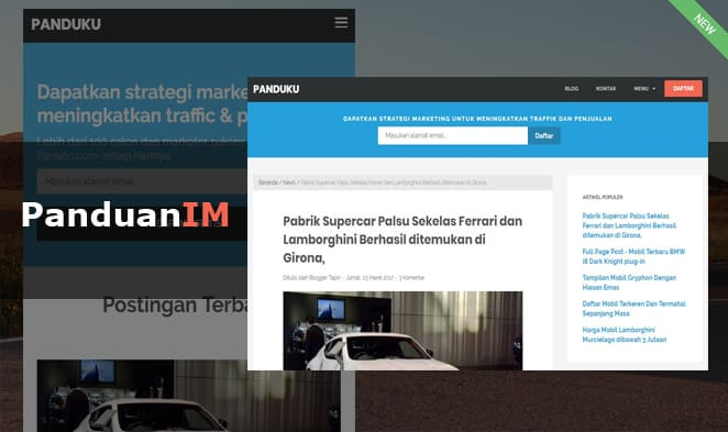 template blogger panduanim by rianseo