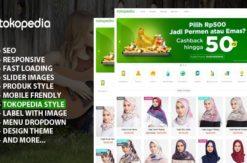 template blogger kusus jualan online mirip tema tokopedia by rian seo