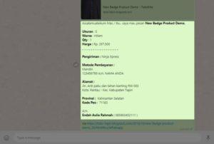 template toko online blogspot dengan fiktur checkout form