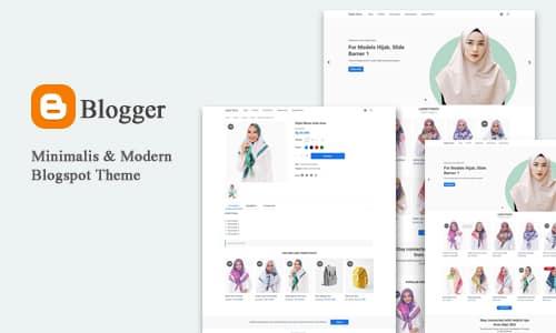 Blogger Stores - Theme Online Store Blogspot